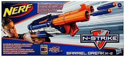 Hasbro A3952  NERF N-Strike Elite Barrel Break IX-2 Dart Blaster inkl. 10 Darts