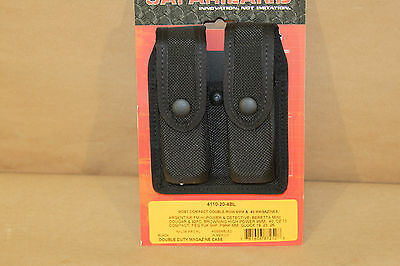 Safariland Mag Holder 4110-20-4BL (for most double-row 9MM &.40 mags)