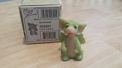 "Pocket Dragon ""I'm Cranky!"" MINT with Original Box!!"