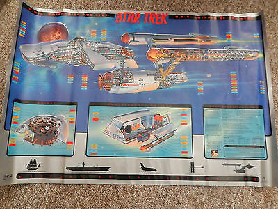 Star Trek Lithographic Print Collectors Limited Edition 165/2,500 Paramount