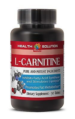 PURE L-CARNITINE POWDER PHARMACEUTICAL GRADE Made in USA 1 Bottle