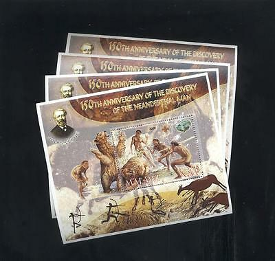 (926682) 4x Prehistory, Small lot, Private / local issue