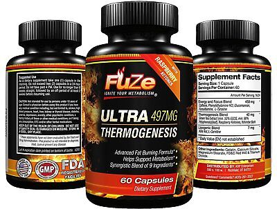 Keto Ultra Fat Burner Thermogenic Diet Pills Ketogenic Weight Loss Supplement