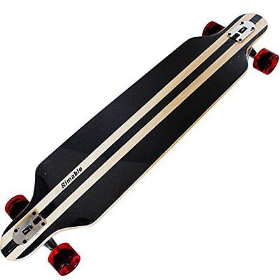 Rimable Drop-through Longboard w/ Maple Laminated Deck (41-inch) - NEW