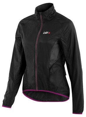 Louis Garneau X-Lite Womens Jacket Black/Purple 2017