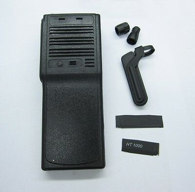 Black Refurbish Kit Case Housing For Motorola HT1000 Protable Radio