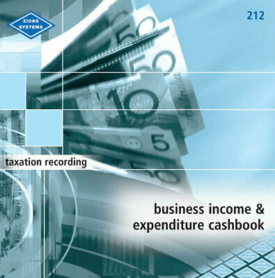 Zions Business Income And Expenditure Book 212