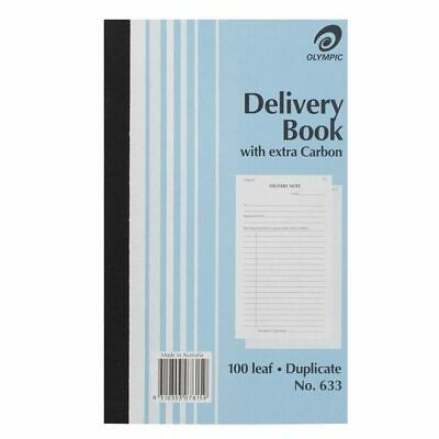 Olympic 633 Carbon Duplicate Delivery Book 10 Pack