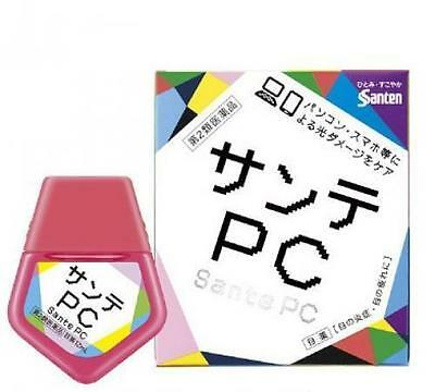 Japan Santen Sante PC Eye Drops 12ml for Computer Smartphone User 日本参天PC眼药水
