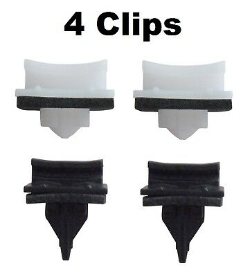 4 x FORD TRANSIT FRONT WINDSCREEN A PILLAR SIDE PLASTIC MOULDING TRIM CLIPS V184