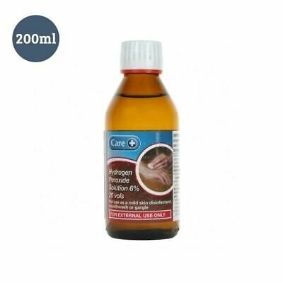 Care 200ml Hydrogen Peroxide 6% Solution