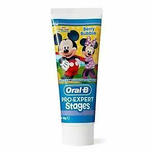 Oral-B Mickey Mouse Berry Bubble Toothpaste 75ml