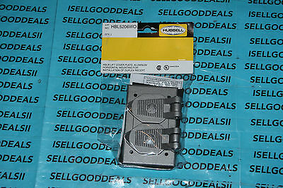 Hubbell HBL5206WO Cover Plate New