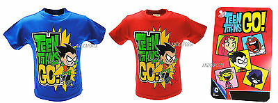 T-Shirt Teen Titans Go! Robin Originale Dc Comics Warner Original Product Maglia