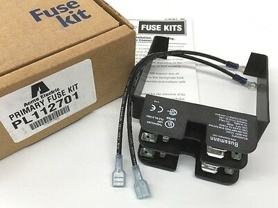 ACME ELECTRIC PL-112701 Primary Fuse Kit 30A 600V