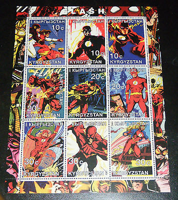 The Flash Mint Unused Stamp Sheet - Kyrgyzstan