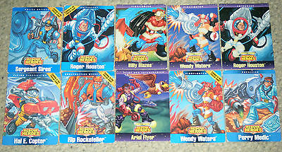 c1998 Fisher Price Rescue Heroes Collector Cards