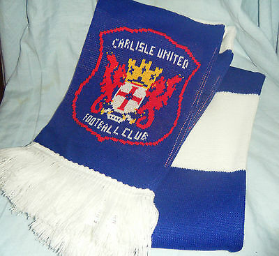 Near New Carlisle United Football Club English Soccer Scarf