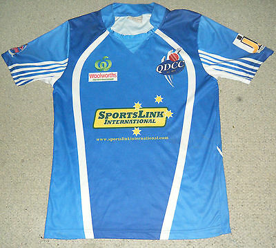 Queanbeyan District Cricket Club 20/20 One Day Jersey / Shirt - mens small