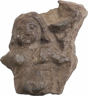 Ancient Egyptian Carved Stone Figure, Roman Period After 30 Bc