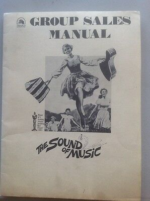 The Sound Of Music Group Sales Manual