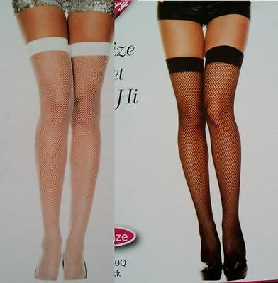 Diamond Net Thigh High Stockings Music Legs 4930