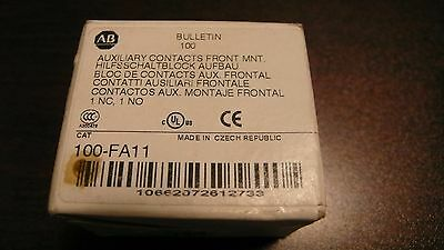 Allen-Bradley 100-Fa11 Auxiliary Contacts