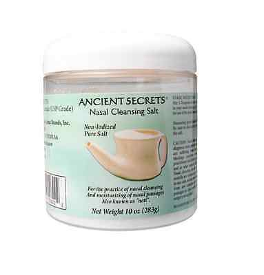 ANCIENT SECRETS Nasal Cleansing Salt for Neti Pot 283g
