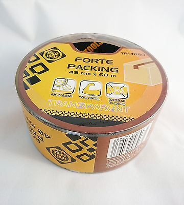 Forte Tools Packing Duct Tape Transparent Very Strong  48mm x 60m