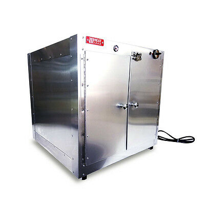 Commercial Food Warmer, HeatMax 24x24x24 Hot Box Pizza Pastry Patties Concession