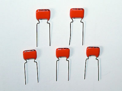10 x NOS 0.1uF .1uF 10% 100V Philips MKT368 Capacitors Tube Amplifier