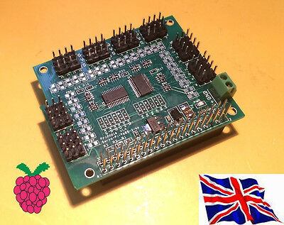 i2c 32 Channel 12 bit PMW / Servo HAT Board for Raspberry Pi B+ /  2 B / 3 B