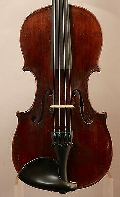 Old, Antique, Vintage Violin Mittenwald 1/2 Size Mid-19th Century