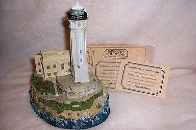 1996 Harbour Lights #177 Alcatraz Island Lighthouse Signed By Bill Younger RARE