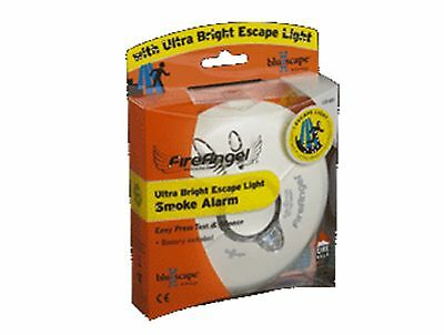FireAngel Ultra Bright Escape Light Ionisation Smoke Alarm LSI-601