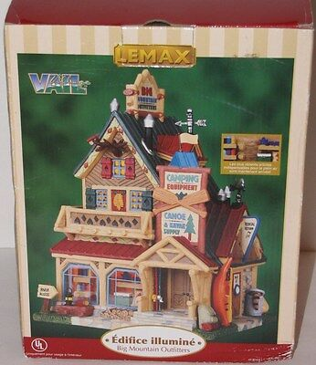 Lemax Big Mountain Outfitters Lighted Village
