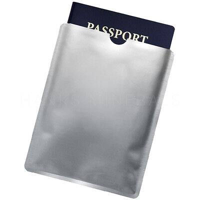 RFID Passport ID Sleeve Protector Blocking Safety Aluminum Shield Anti Theft