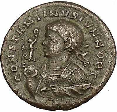 CONSTANTINE II Jr. Constantine I the Great son Ancient Roman Coin ALTAR  i54196