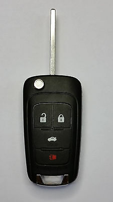 2010-2016 OEM Chevy Switchblade Flip Remote Keyless Entry Fob with Uncut Blade