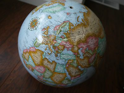 VTG Replogle Globe made in usa world classic series 12 inch diameter AS IS