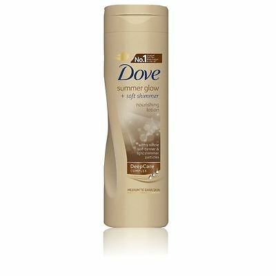 Dove Summer Glow and Soft Shimmer Nourishing Body Lotion 250ml