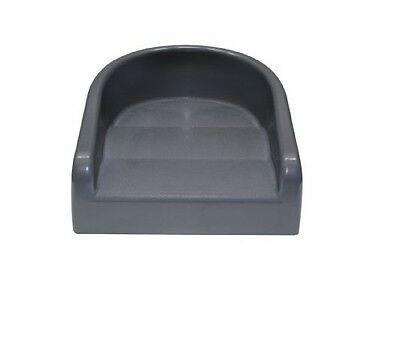 Soft Booster Seat Charcoal Grey