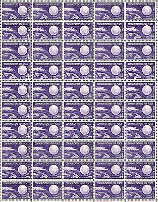 Vintage Full Mint Sheet of 50 U.S BOY SCOUTS 1950 Postage Stamps