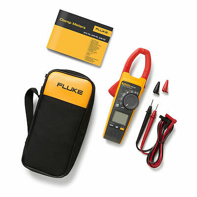 Fluke 375 FC TRMS AC/DC Clamp Meter w/ Frequency, 600A/600V. Fluke Connect 375FC