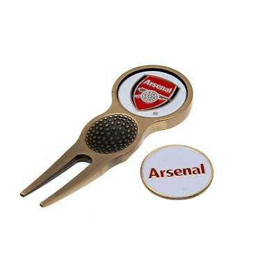 Arsenal Golf Divot Tool and Ball Markers - Official Club Merchandise