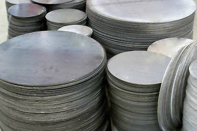 "1/4"" .250 STEEL PLATE 12"" Dia DISC * CIRCLE"