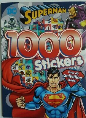Batman 1000 Stickers: Over 60 Activities Inside! For Children/Kids Age 5+yr, New