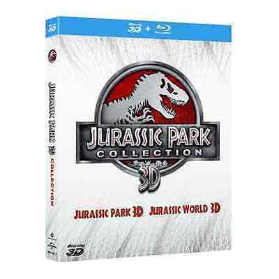 Blu Ray JURASSIC PARK 3D - *** (Collection 3D)  (N° 4 Dischi) *** .....NUOVO