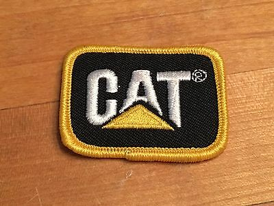 """Vintage Caterpillar Cat Diesel Power Embroidered Patch - 2""""x1.5"""""""