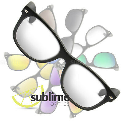 UV400 Clear Replacement Lenses For Ray Ban RB2132 New Wayfarer 55mm ~ Safety
